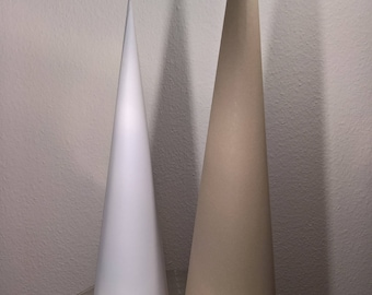 Sugar cone blank, height 90 cm, recycled cardboard