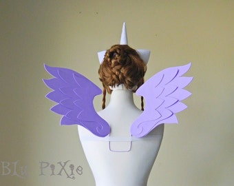 My Little Pony Cosplay Wings, MLP Halloween Costume, Kids and Adult Accessories, Brony Cons Festivals
