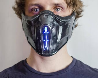 Cosplay Replica Mask Sub-zero Mortal kombat XL