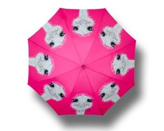 camilla Ostrich umbrella