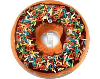 Doughnut Single Toggle Switch Plate Cover