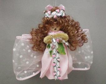 Ornament Pretty Pink Angel
