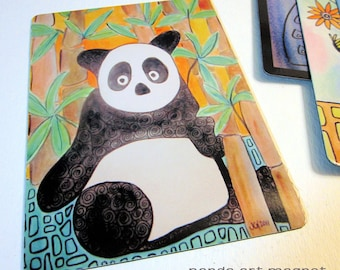 "Art Magnet Panda 3.5"" x 5"""