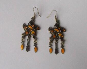 1 pair of Star earrings and pendants