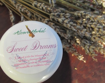 Headache and Insomnia Herbal Salve