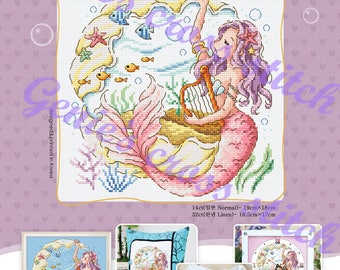 A Legend of The Legend Counted cross stitch chart or Kit.  SODAstitch SO-3226