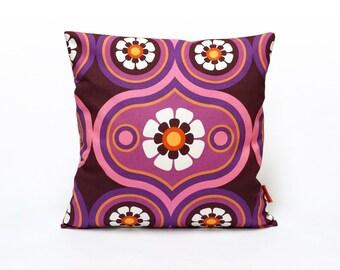 Modern Cushion Cover, retro throw pillow, sofa pillow 16x16, pillow sham, designer pillow, mid century pillow handmade by EllaOsix