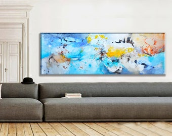 Large Painting on Canvas, Modern Art Abstract Painting, Original Abstract Acrylic Painting, Wall Art on Canvas, Acrylic Painting on Canvas