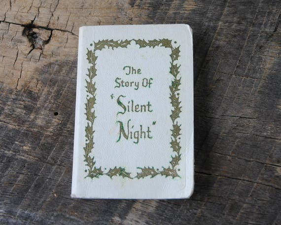Vintage the story of silent night gibson greeting cards m4hsunfo Choice Image