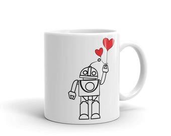 Robot Love Coffee Mug
