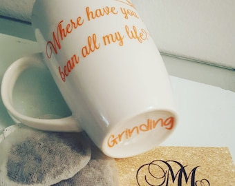 Personalized Mugs with quotes - Custom coffee mug - Custom logo merchandise - personalized gifts