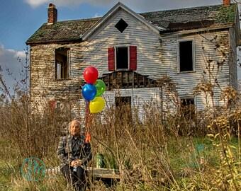 Urban Decay, Abandoned House, Wall Decor, Home Decor, Abandoned, Fine art print, Farm House, portrait,