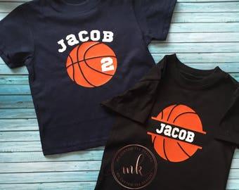 Personalized Basketball Shirt / Birthday basketball shirt / Basketball