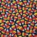 "1 1/8 Yds x 44"" Wide Candy Corn Print Cotton Fabric"