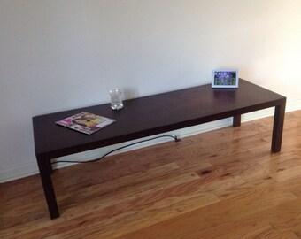 Mid Century Modern Coffee Table LANE ALTAVISTA, VIRGINIA Faux Tortoise  Shell Top