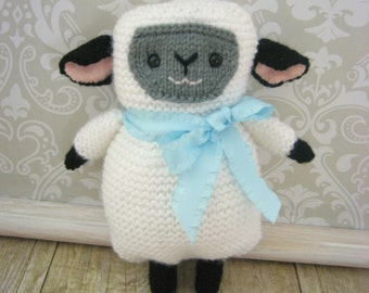 Amigurumi Knit Lamb Pattern Digital Download