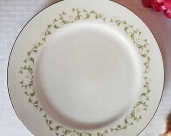 "Vintage Dinner Plate ""Elegance"" by Sheffield"