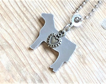 Stock Show Heifer Necklace, Cattle Jewelry, Show Heifer, Livestock Show, Stock Show, FFA, 4H, Farm Girl, Country Girl, FFA Gift, 4H Gift