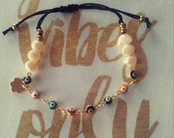 Gold bracelet - Adjustable