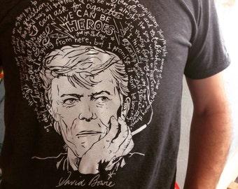 Saint Bowie the Braveheart- David Bowie Artist Saint T-Shirt