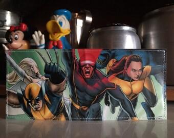 X-Men Disneyland Map Wallet