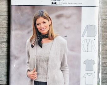 Twin set pattern Burda 2564 pouch - Lady