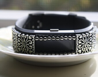 Fitbit Charge 2, Fitness Tracker Charm, Fitbit Bling, Fitbit Heart Charm