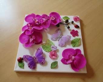 decorative floral painting