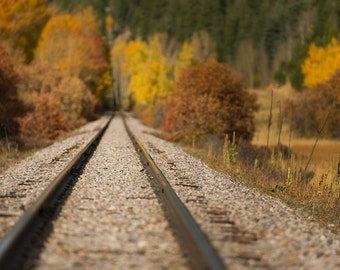 Train Track Background
