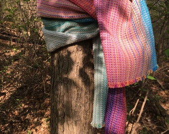 Handwoven Bath Towel, Pebble weave