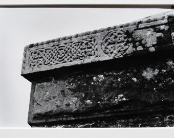 Medieval Irish Stone Photograph