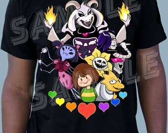 YOUTH - Hotlands Tee - Inspired by Undertale