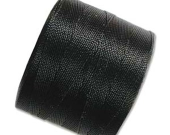 S-Lon Micro Tex 70 Black Multi Filament Cord 287 yard Spool