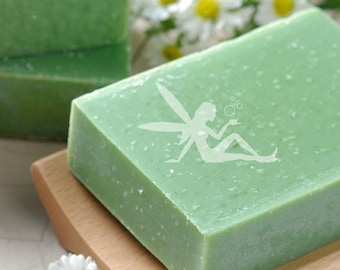Ginger Lime Natural Handmade Soap vegan