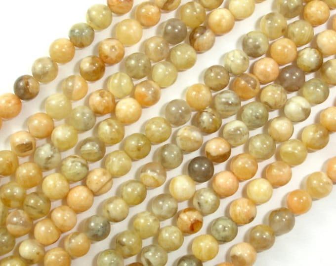 Feldspath Beads, Tiger Jasper Beads, Round, 4 mm, 15.5 Inch, Full strand, Approx 100 beads, Hole 0.5 mm, A quality (424054001)
