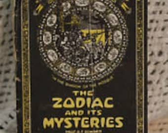 The zodiac and its Mysteries  Book