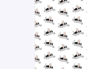 Jeremy Corbyn Luxury A3 Wrapping Paper Sheets | A3 Birthday Gift Wrap | Jezza Labour Party | Best Selling Greetings Card
