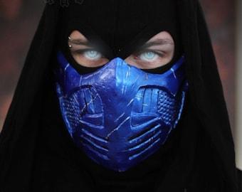 Mortal Kombat X Sub Zero Blue Steel skin