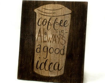 Country kitchen signs Rustic coffee signs Rustic kitchen wall decor Rustic kitchen sign Rustic kitchen wall art  Wood coffee sign Coffee mug