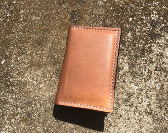 Leather Handmade Hand Stitched Wallet