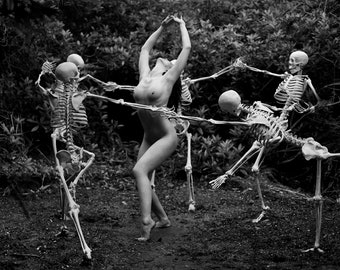Danse Macabre, Ready for hanging, Only 1 available!