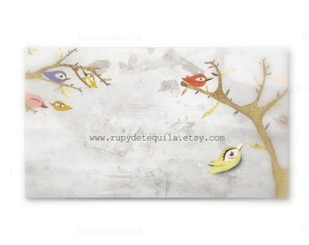Birds Branches Business cards