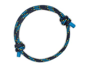 Anchor Bracelet Men - Blue Anchor Bracelet, Anchor Bracelet, Blue Bracelet, Mens Anchor Bracelet, Anchor Bracelet for Men, String Bracelet