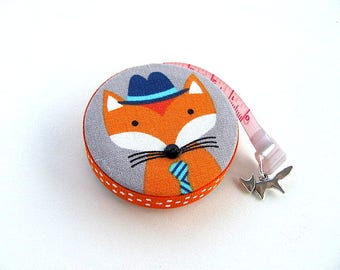 Tape Measure Dapper Foxes Retractable Tape Measure