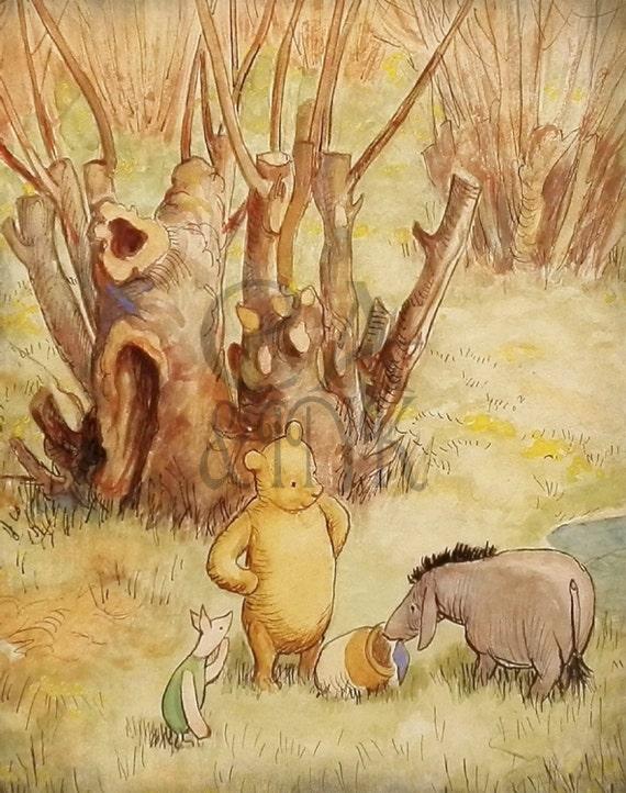 Cool Classic Winnie The Pooh Wall Art Ideas - Wall Art Design ...
