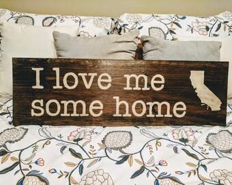 Love me some home