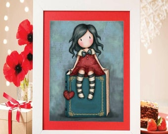 Instant Download cross stitch character
