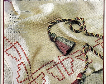 Handwoven / Fabulous Finishes Weaving Magazine and Pattern Book May/June 1991 Volume XII, Number 3