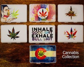 Cannabis Themed Stash Case