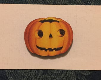 Pumpkin Halloween Needleminder